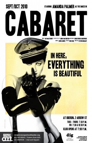 Amanda Palmer Starring As Emcee in New Production of Cabaret