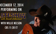 Billy Joe Shaver & Willie Nelson to Perform on Letterman