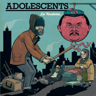 "Still Angry After 35 Years: Veteran Punk Rockers, The Adolescents, to Release New Album, ""La Vendetta"""